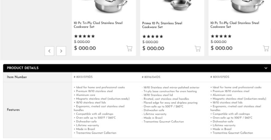 Driven.cx & VTEX: Comparador de Produto